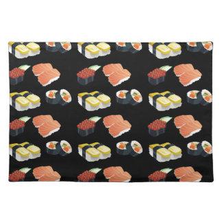 Sushi pattern placemat