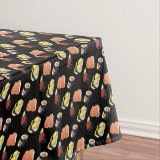 Sushi pattern tablecloth