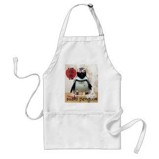 sushi penguin standard apron