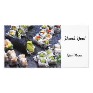 Sushi Photo Cards