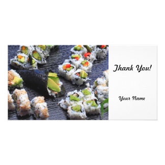 Sushi Photo Greeting Card