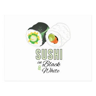 Sushi Postcard