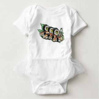 Sushi Roll Baby Bodysuit