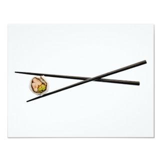 Sushi Roll & Chopsticks - Customized Template