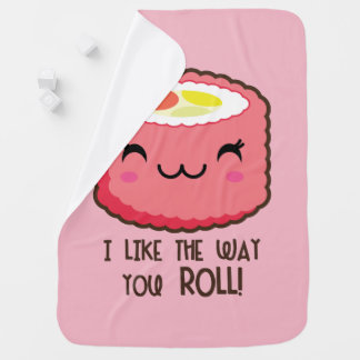 Sushi Roll Cute Baby Blanket
