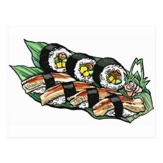 Sushi Roll Postcard