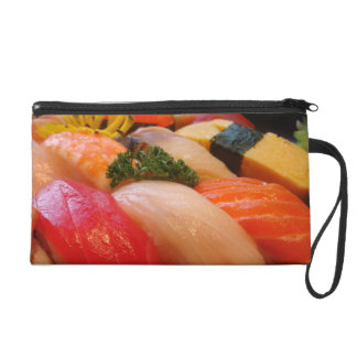 Sushi roll sashimi top foodie chef hipster photo wristlet