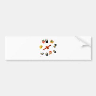 Sushi Set Watercolor2 Bumper Sticker