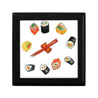Sushi Set Watercolor2 Gift Box