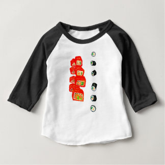 Sushi Set Watercolor3 Baby T-Shirt