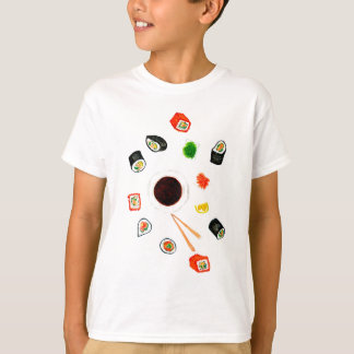 Sushi Set Watercolor T-Shirt