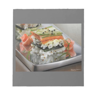 Sushi Square Gift Notepad by Rick London Designs
