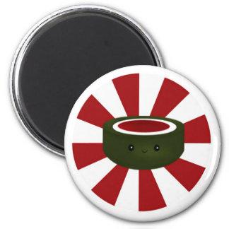 Sushi Star - White Magnet