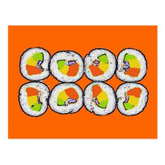 Sushi Sushi Postcard
