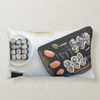 Sushi throw pillows