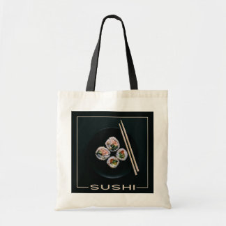 Sushi tote bags