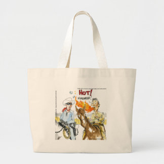 #Sushi Wasabi Of The Old West Funny Gifts Etc Large Tote Bag