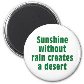 Sushine without Rain creates Desert Magnet