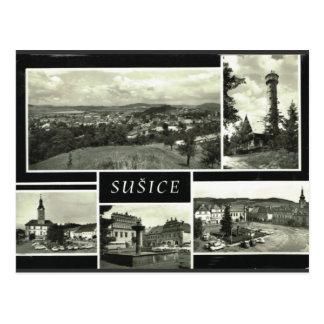 Sušice Czech Republic Postcard