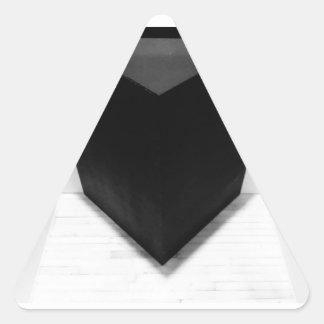 Suspect reality triangle sticker