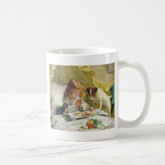 Suspense by Charles Burton Barber Coffee Mug
