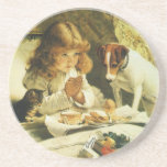 Suspense, Saying Our Prayers Charles Burton Barber Drink Coasters