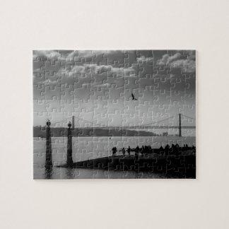 Suspension Bridge in Lisbon Puzzle