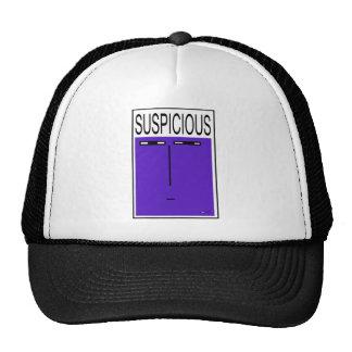 SUSPICIOUS CAP