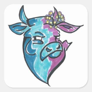 Suspiciously Adora-Bull Sticker