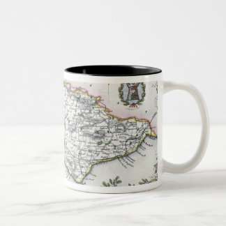 Sussex, engraved by W. Schmollinger Two-Tone Coffee Mug
