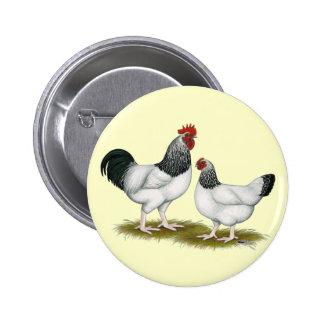 Sussex:  Light Pair 6 Cm Round Badge