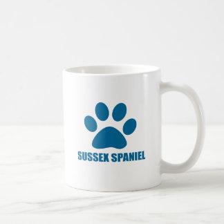 SUSSEX SPANIEL DOG DESIGNS COFFEE MUG