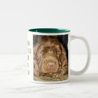 Sussex Spaniel Face Mug