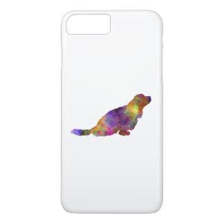 Sussex Spaniel in watercolor iPhone 8 Plus/7 Plus Case
