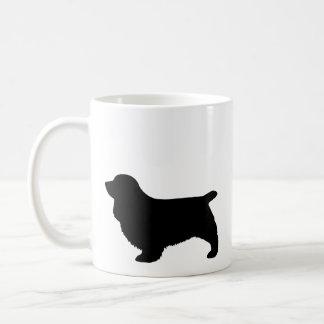 Sussex Spaniel Silhouettes Coffee Mug