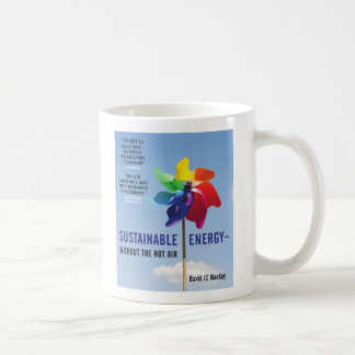 Sustainable Energy - without the hot air Coffee Mug