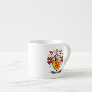 Sutherland Family Crest Coat of Arms Espresso Cup