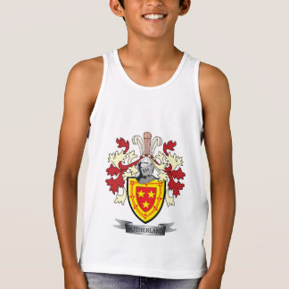 Sutherland Family Crest Coat of Arms Singlet