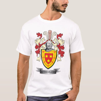 Sutherland Family Crest Coat of Arms T-Shirt
