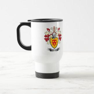 Sutherland Family Crest Coat of Arms Travel Mug