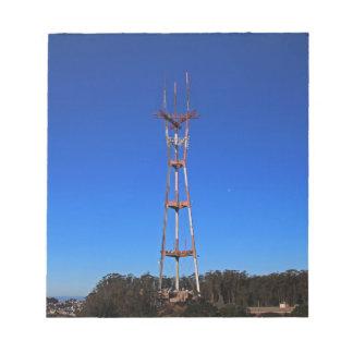 Sutro Tower-horizontal Notepad