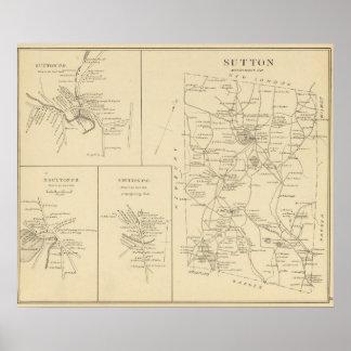 Sutton, Merrimack Co Poster