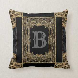 Sutton Place Victorian Beautiful Monogram Cushion