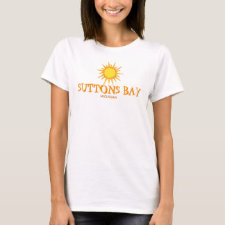 Suttons Bay, Michigan - Ladies Baby Doll (Fitted) T-Shirt