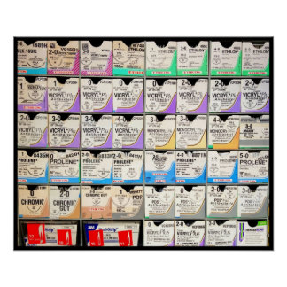 Suture Boxes Poster