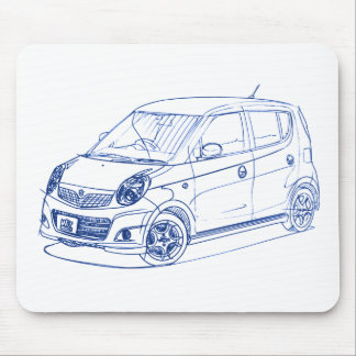 Suz MR Wagon Wit 2006 Mouse Pad