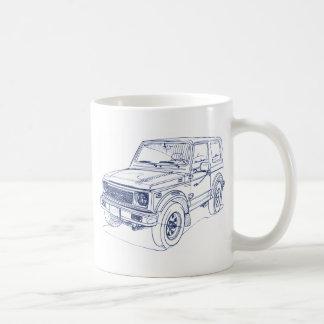 Suz Samurai Jimny SJ 1988 Coffee Mug