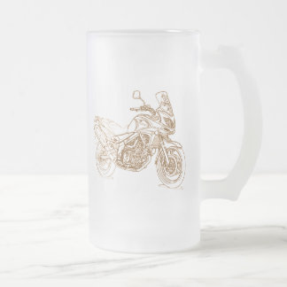 Suz VStrom 650 2012 Frosted Glass Beer Mug