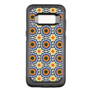 Suzani Pattern OtterBox Commuter Samsung Galaxy S8 Case
