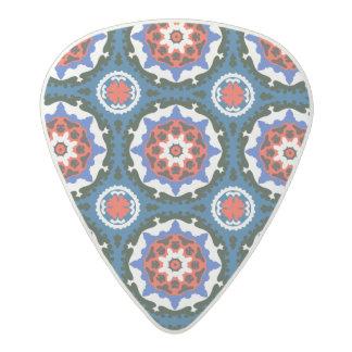 Suzani Pattern With Bold Ornament Acetal Guitar Pick